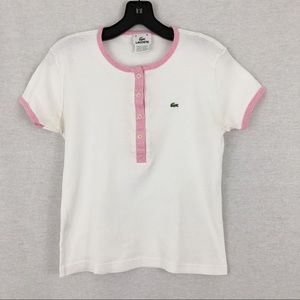 VINTAGE | Lacoste Made in France Baby Tee